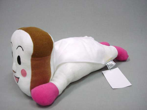 しょくぱんまんの抱き枕横向き