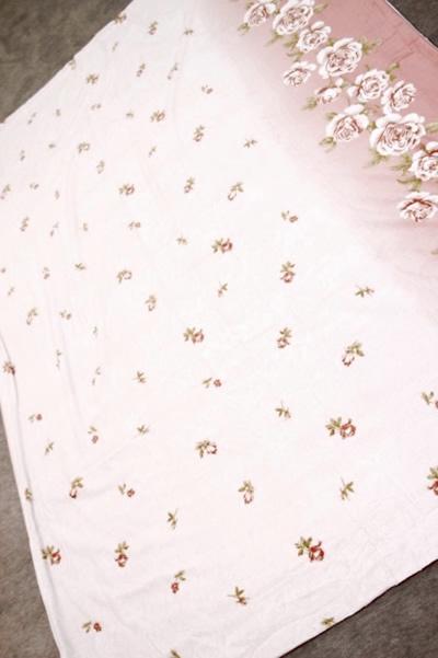 羽毛布団専用カバー ピンク