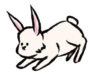 うさぎ、ウサギ、兎